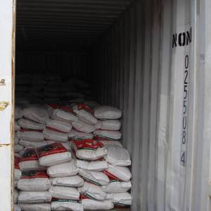 Rice inside NGO storage